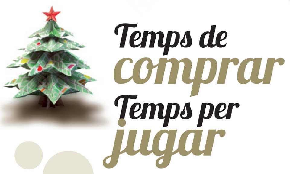TEMPS DE COMPRAR TEMPS PER JUGAR