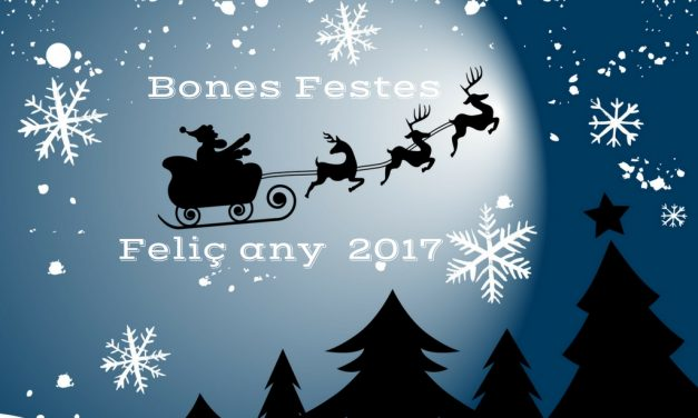 Bones Festes i feliç any nou 2017