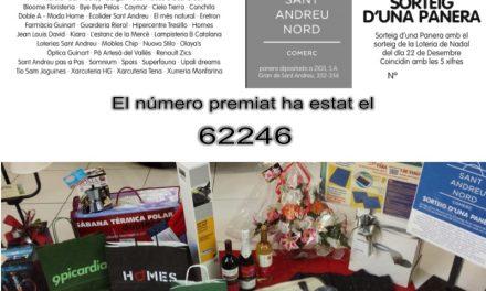 EL NÚMERO PREMIAT HA ESTAT EL 62246