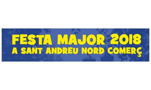 Festa Major 2018 a Sant Andreu Nord Comerç