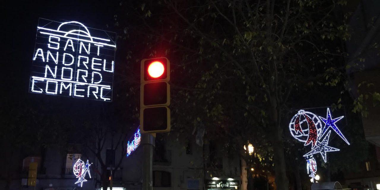 Sant Andreu Nord s'il·lumina