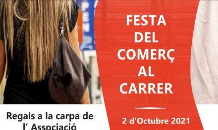 Festa del Comerç al carrer 2 d'octubre 2021